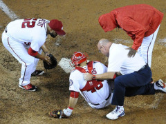 Nats All Star Catcher Wilson Ramos Out For Season With Torn ACL