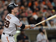 Buster Posey Drives In Three, Giants Clinch Second Wild Card