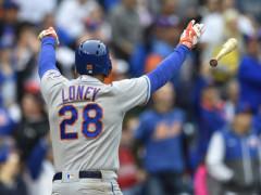 James Loney Delivers Decisive Homer and Memorable Bat Flip!