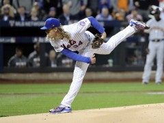 Syndergaard and Bumgarner Clash in All-Time Pitcher's Duel