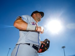 Tebow Makes AFL Debut, Helps Fan After Game