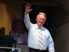 President Obama Awards Medal of Freedom to Vin Scully