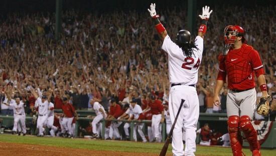 manny ramirez Home Run