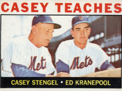 Shoebox Memories: 1964 Topps Casey Teaches Kranepool