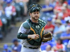 Could Stephen Vogt Be the Catcher the Mets Need?