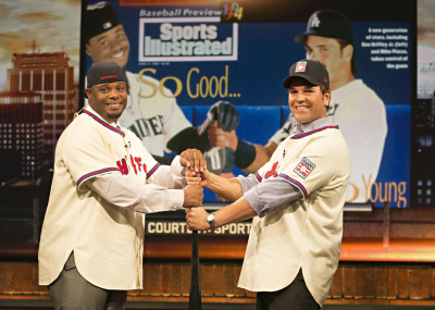 Griffey and Piazza_1994 SI Cover Reshoot