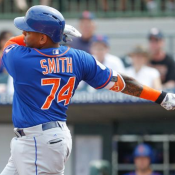 Dominic Smith Ranked Third Best 1B Prospect