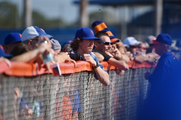 fans at psl spring training