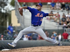 Steven Matz Successfully Uses New Pick-Off Move