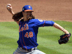 Jacob deGrom In Mid Season Form