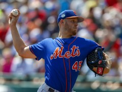 Zack Wheeler Hits 94 MPH in First Start of the Spring