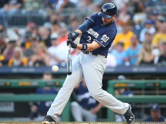 wholesale dealer b567b 502ee If Brewers Sign Moustakas, They Could Trade Travis Shaw to ...