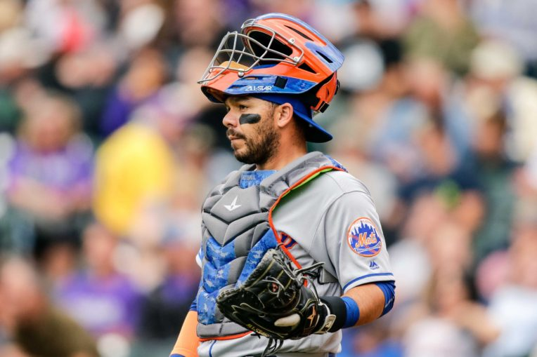 Rene Rivera Will Catch Noah Syndergaard on Wednesday