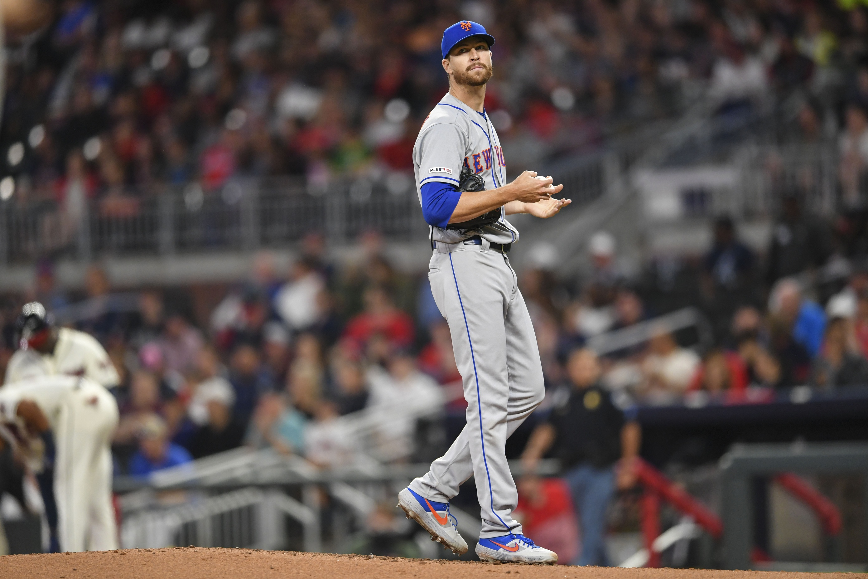DeGrom Playing Catch Again Sunday, Will Likely Not Receive MRI