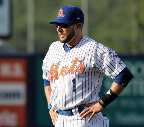 Jed Lowrie Doubles in Rehab Game for St. Lucie