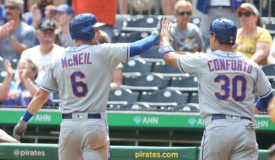 Alonso, McNeil, Conforto Once Again Projected To Be Special Trio