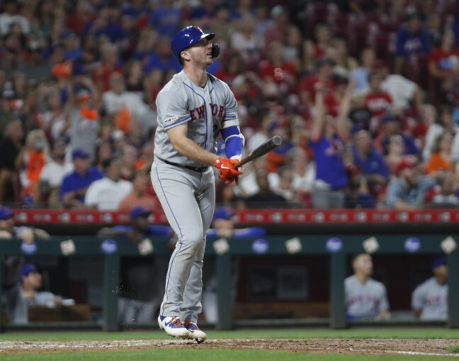 Mets Take First Game 8-1 in the Great American Ball Park