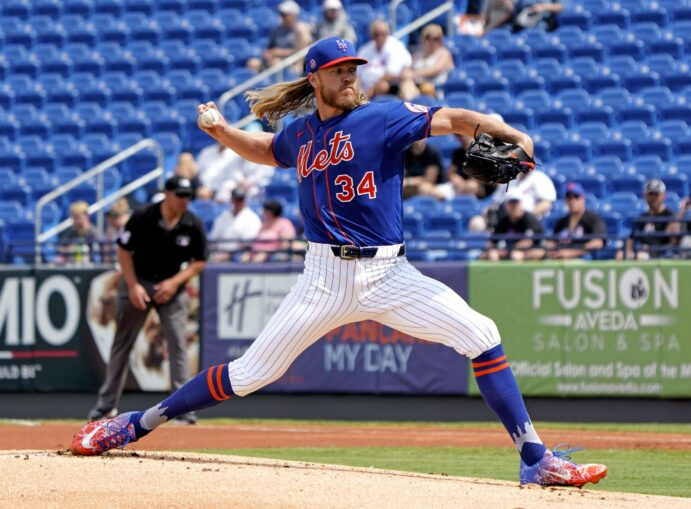 Syndergaard Throws Off Mound, 'Big Chance' Carrasco Debuts Friday