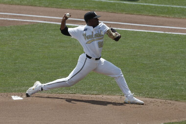Mets Select Kumar Rocker With 10th Overall Pick