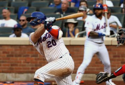 Mets, Down by Three Runs Twice, return to Topple Nats, 8-7, in Game 1
